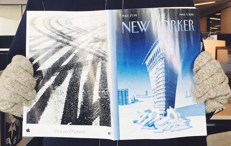 The New Yorker iPhone 6