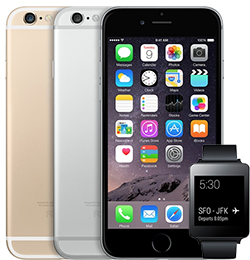 iPhone 6 Android Wear