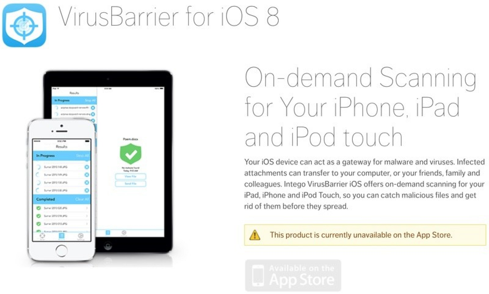 iphone virus scan apple removes intego s virusbarrier from ios app 2518