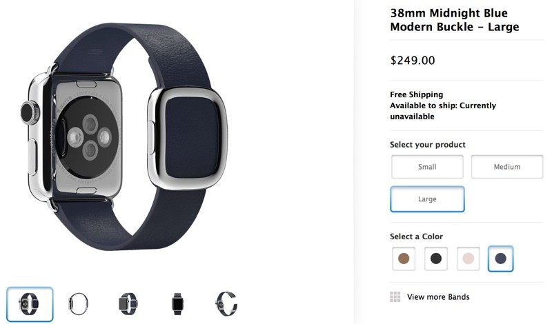 fb3310fdb Apple Watch Bands Range in Price from $49 for the Sport Band to $449 ...