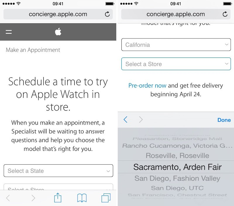 How To Schedule An Apple Watch Try-On Appointment - Mac Rumors