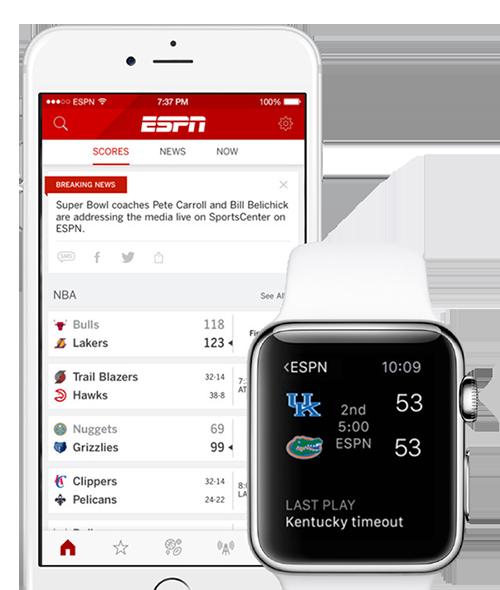 ESPN Apple Watch