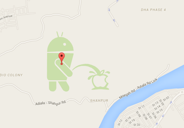 google maps apple logo