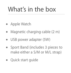 Sport Band Three Pieces