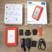 Lacie Review Hands On With The 4tb Rugged Raid Thunderbolt Hard Drive