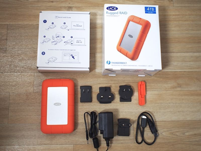 Lacie Review Hands On With The 4tb Rugged Raid Thunderbolt