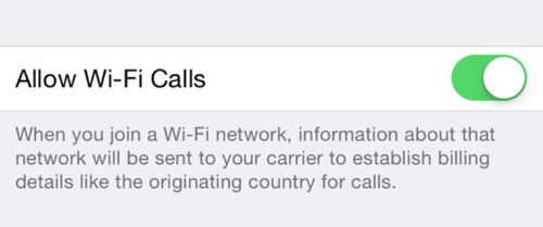 iOS 8 3 Enables WiFi Calling for Sprint, EE Subscribers - MacRumors