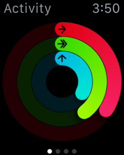Activity Ring Apple Watch