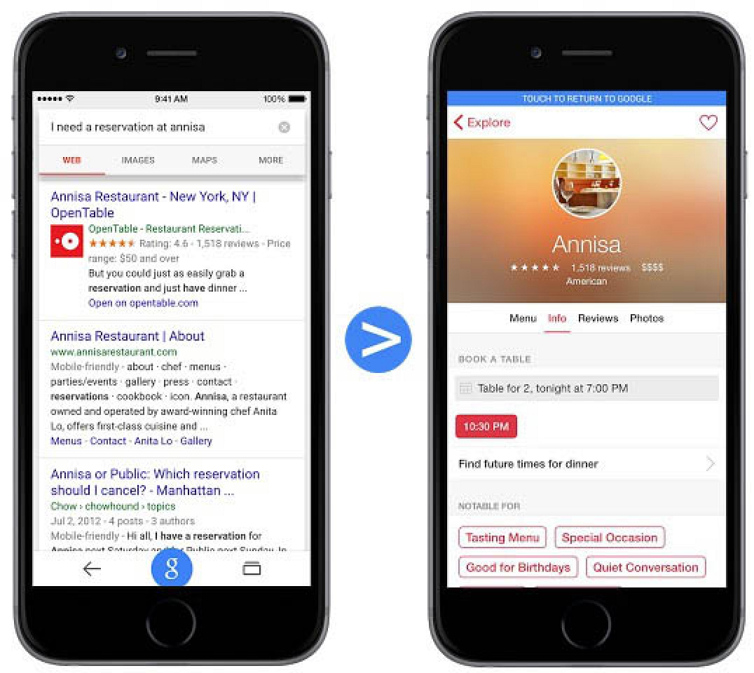 Google Search Will Begin Indexing iOS App Content in ...