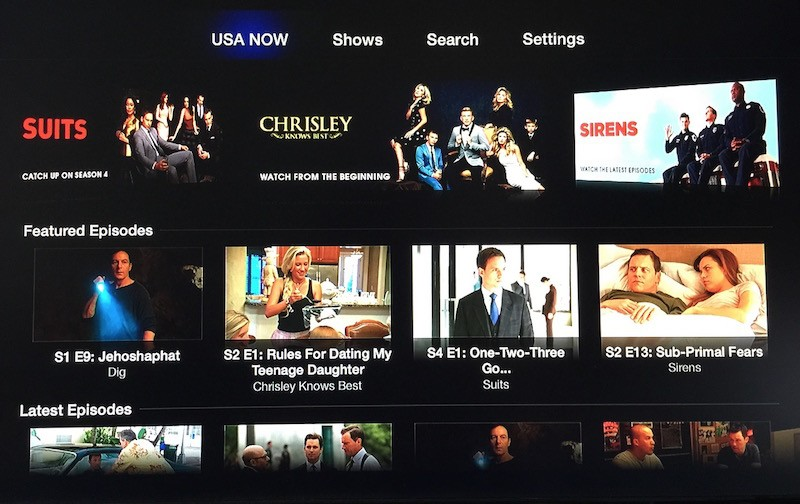 CBS Sports and USA NOW Channels Now Available on Apple TV [Update