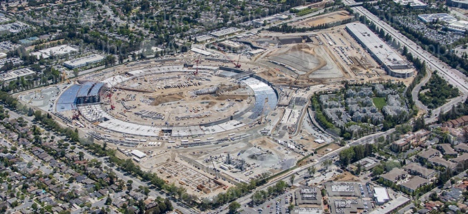Apple Hires New General Contractor for Apple Campus 2 Sparking