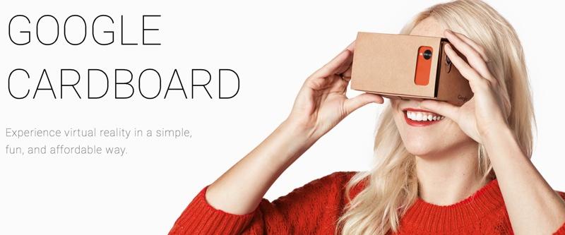 Google Brings 'Cardboard' Virtual Reality Headset to iOS