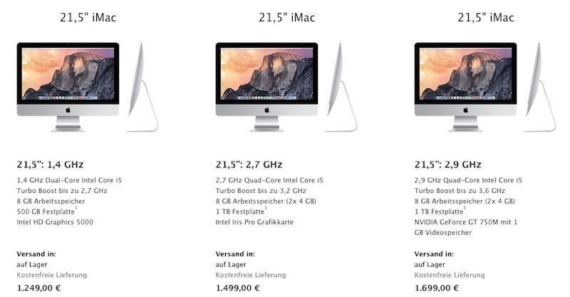 iMac Price Increase Germany