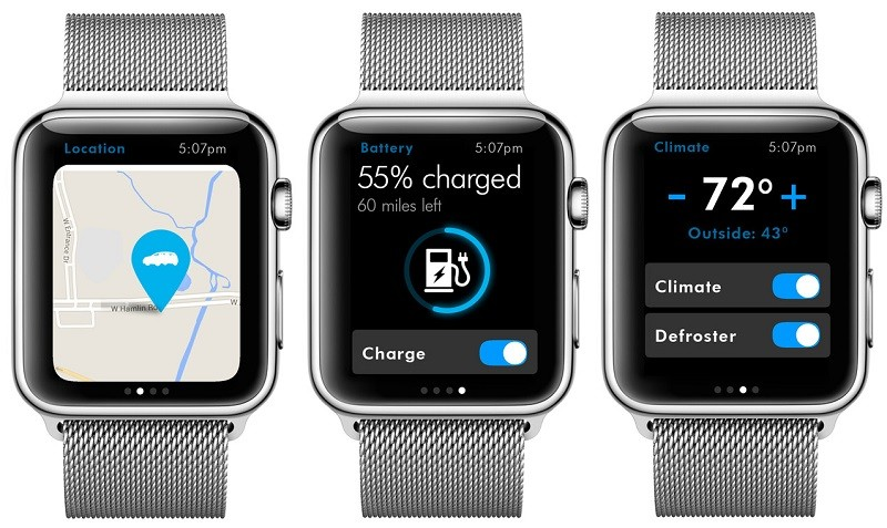 volkswagen debuts connected car app on apple watch mac rumors. Black Bedroom Furniture Sets. Home Design Ideas