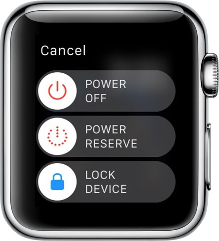 Apple Watch Power Off