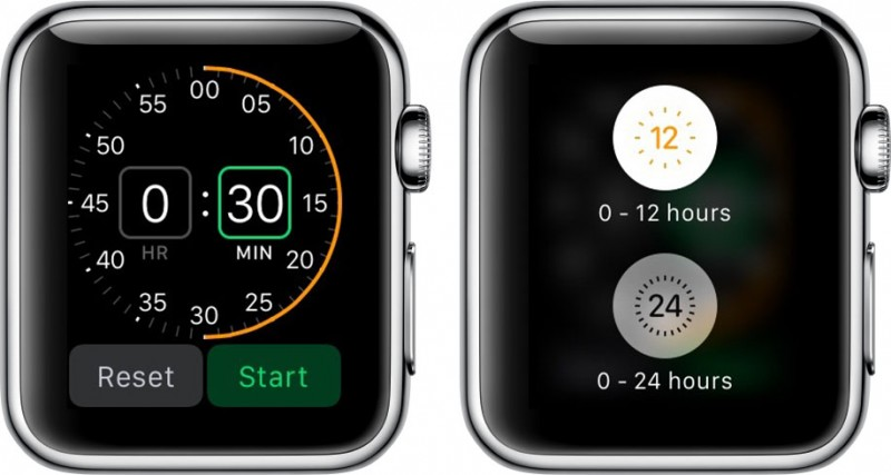 Using the Timer, Alarm, and Stopwatch Apps on Apple Watch