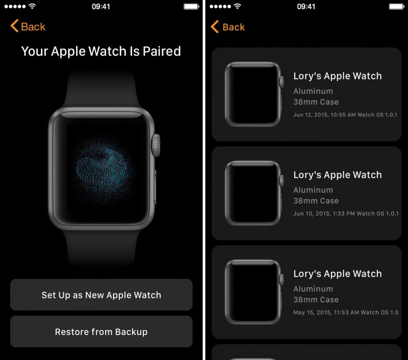 How to backup and restore apple watch 3