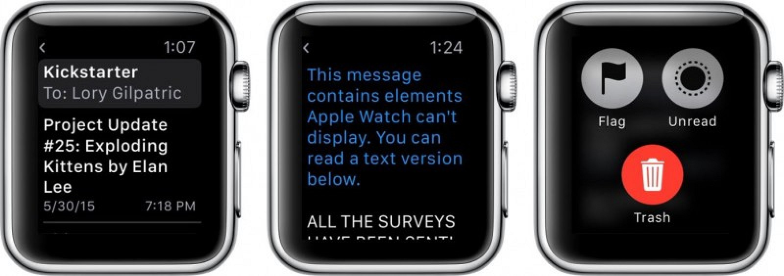 How To Use The Mail App On Apple Watch Mac Rumors