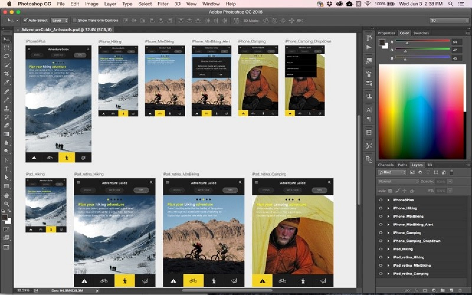 Adobe Announces 2015 Creative Cloud Updates, New Integrated Adobe