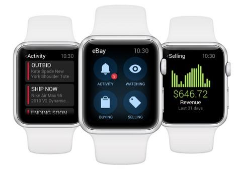 eBay Apple Watch App