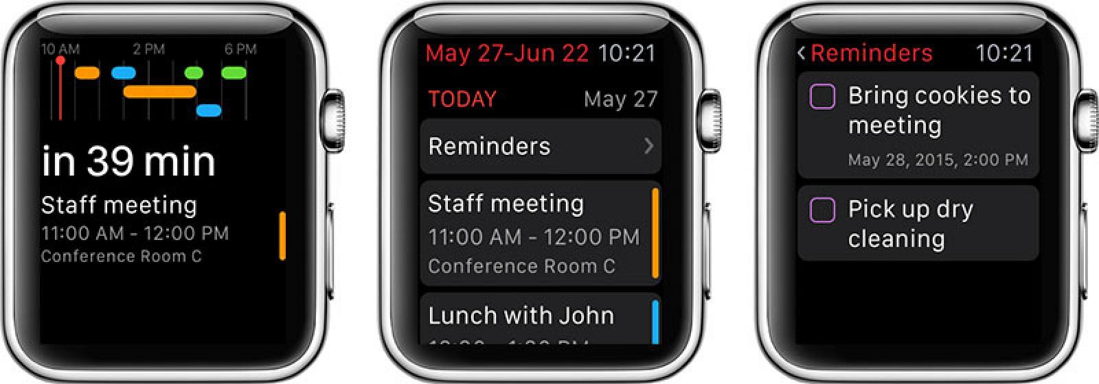 popular calendar app fantastical 2 now available for apple watch mac rumors