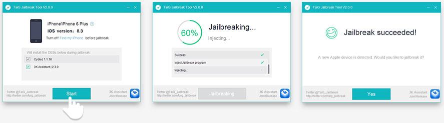 iOS 8.3 Jailbreak TaiG