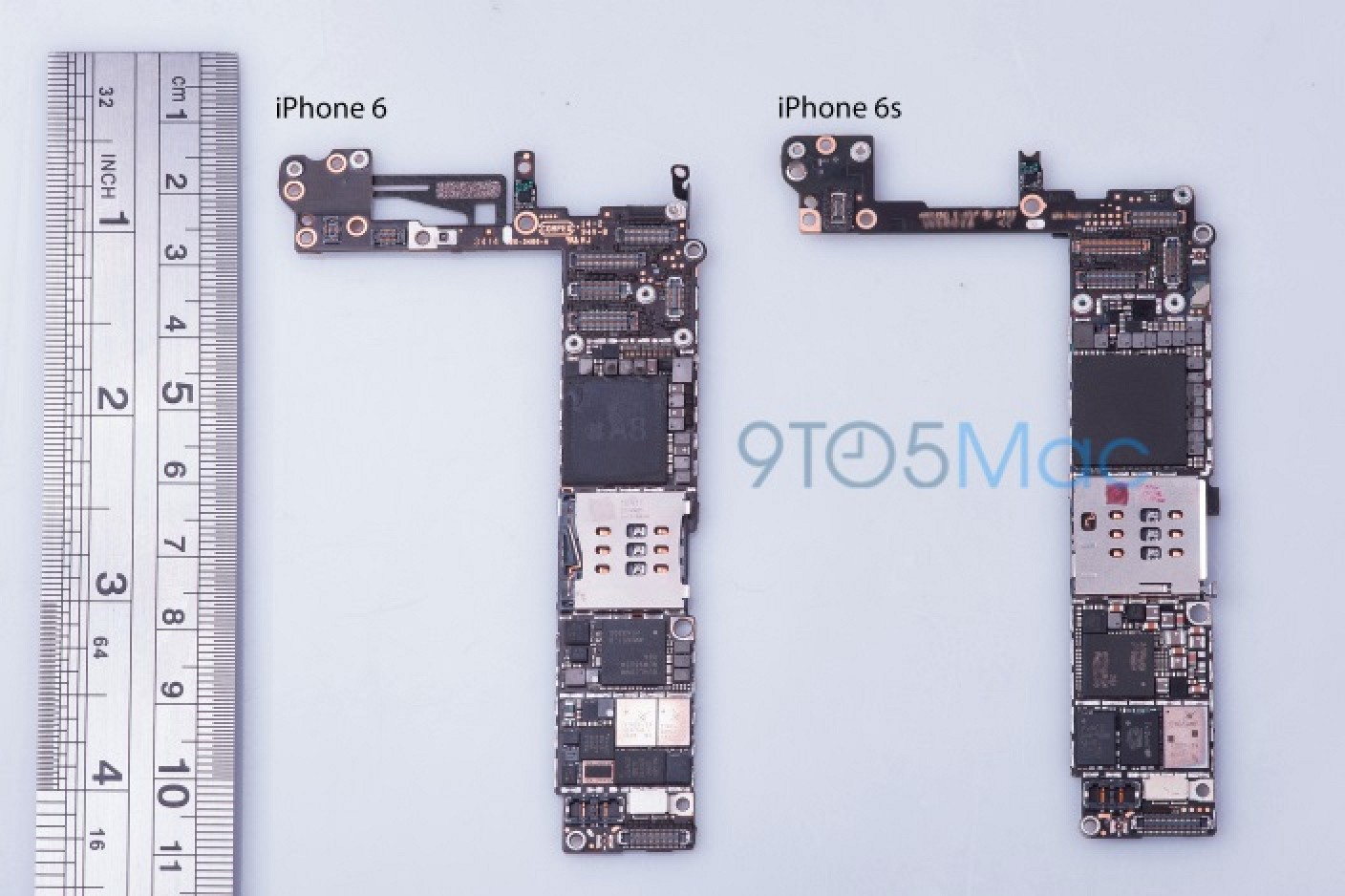 39 iphone 6s 39 logic board suggests 16gb base model and updated nfc hardware macrumors