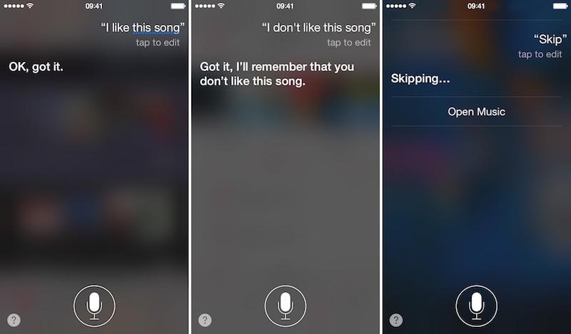 Apple Music and Siri 7