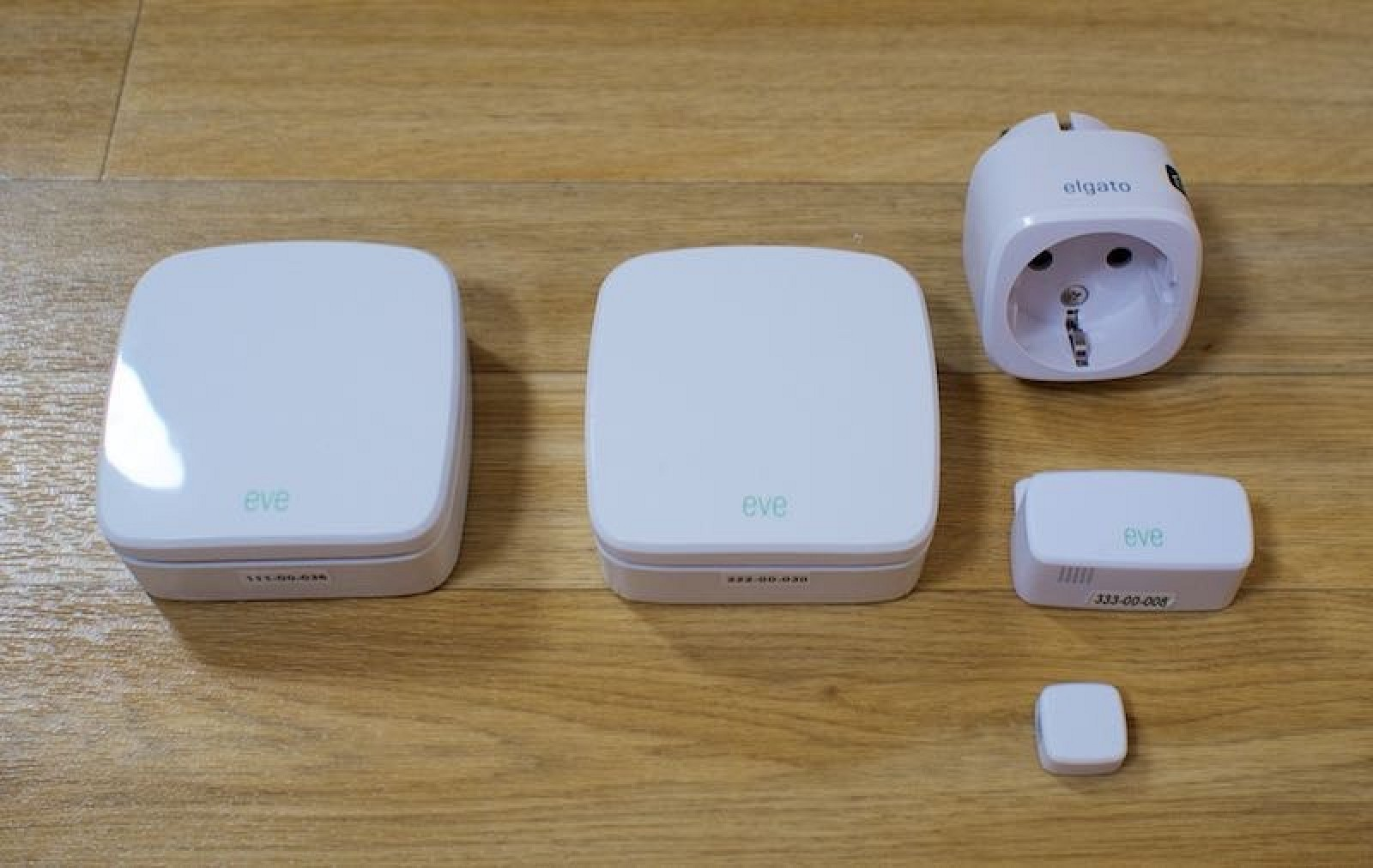 Elgatos Eve Smart Home Accessories Are Useful But Hampered By Outdoor Electric Outlets Group Picture Image Tag Buggy Homekit Platform Macrumors