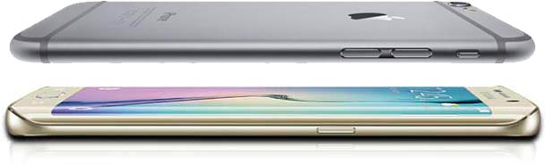 iPhone 6 Galaxy S6 Edge