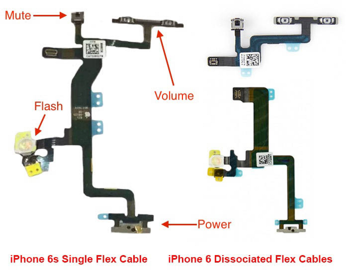 iphone 5s parts diagram more iphone 6s part photos surface as production ramps 5120