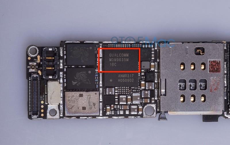 iphone 6s qualcomm chip
