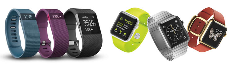 Fitbit Apple Watch