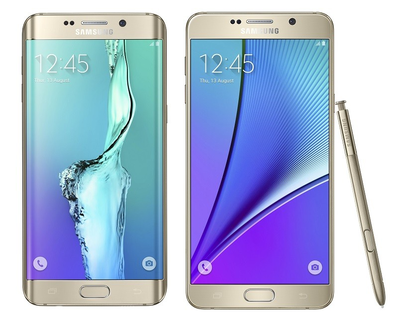 Samsung Debuts Galaxy Note5 and S6 Edge+ Phones, Preps for ...