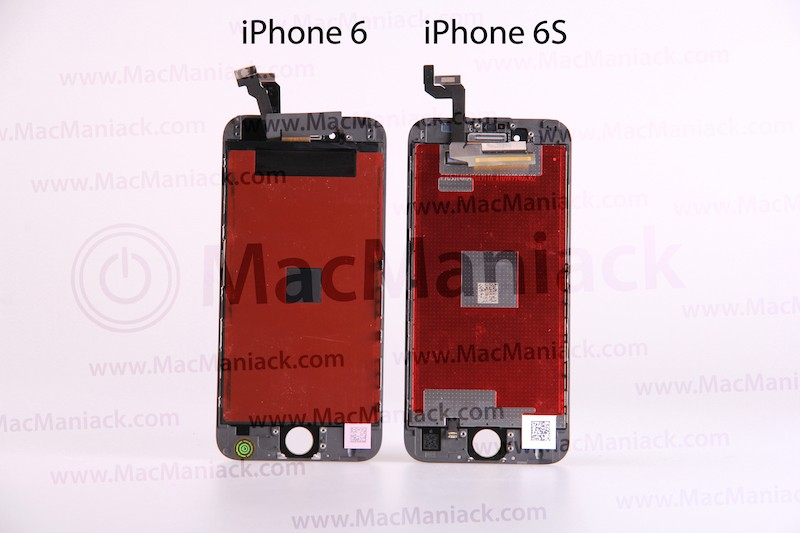 san francisco a90a9 bc7d8 iPhone 6s' and iPhone 6 Displays Compared in New Video - MacRumors