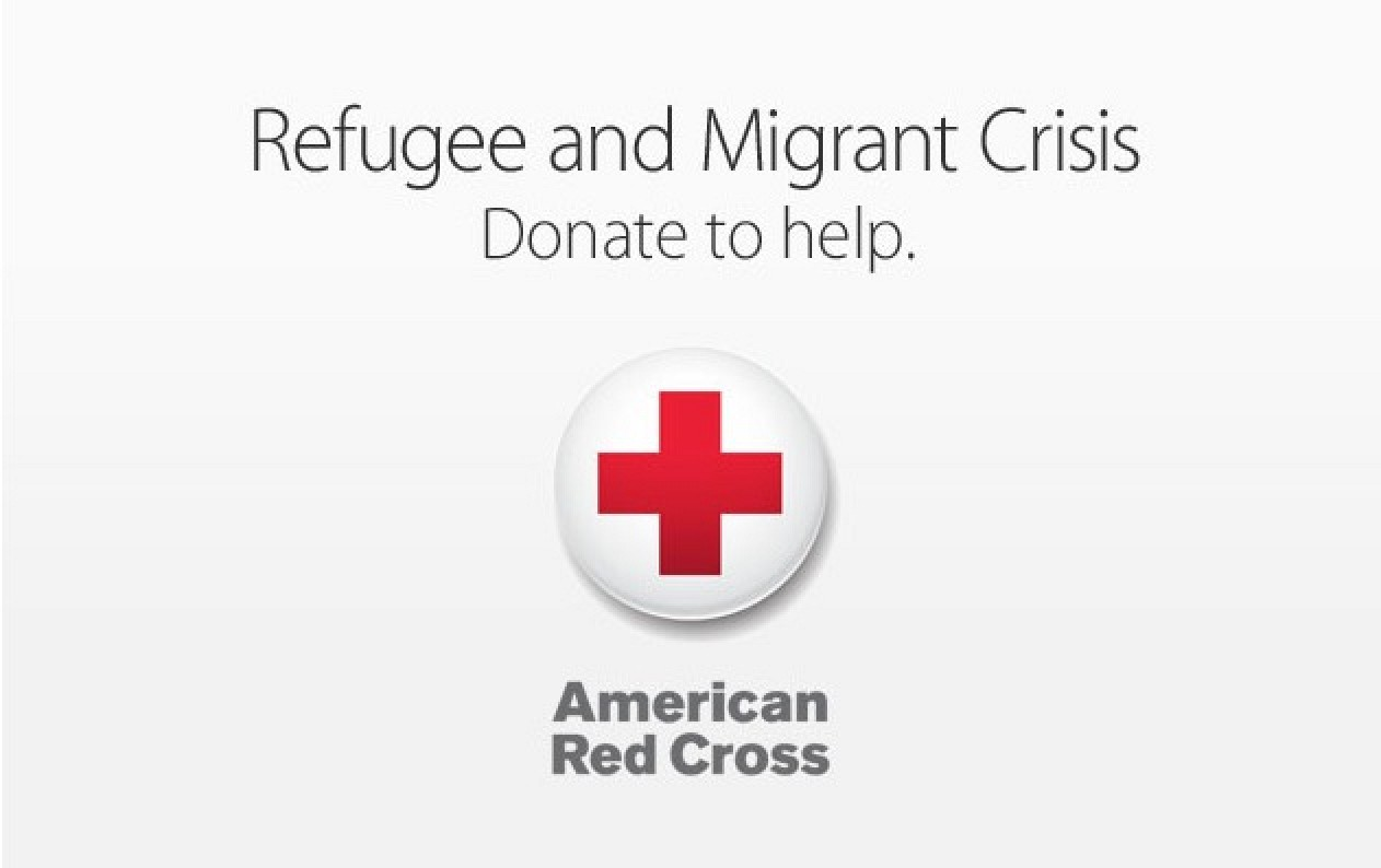 apple accepting red cross donations through itunes to support migration crisis macrumors. Black Bedroom Furniture Sets. Home Design Ideas