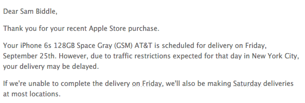 Iphone X Delivery Date In Usa