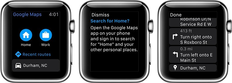 Google maps amazon and ebay drop apple watch support updated x3 checking today none of the three companies offer apple watch apps having quietly removed apple watch functionality through app store updates gumiabroncs Image collections
