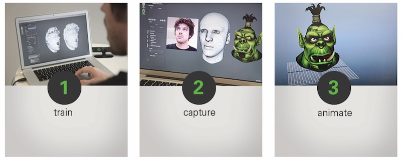 faceshift_train_capture_animate