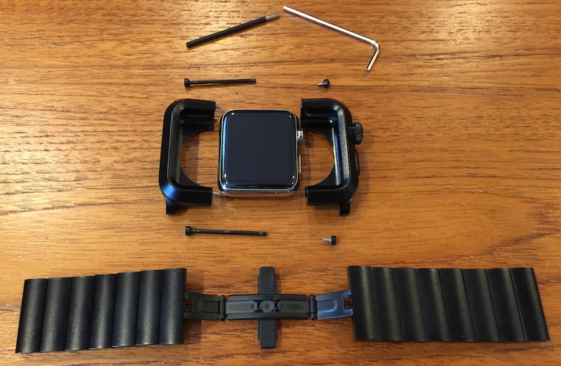 first rate 4b5d1 f8c51 LUNATIK EPIK Apple Watch Kit Review: Rugged Protection, but Not the ...