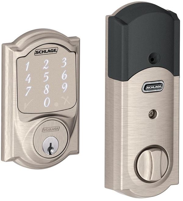 schlagesense  sc 1 st  Mac Rumors & Schlage Sense HomeKit-Enabled Smart Deadbolt Now Available for Pre ...