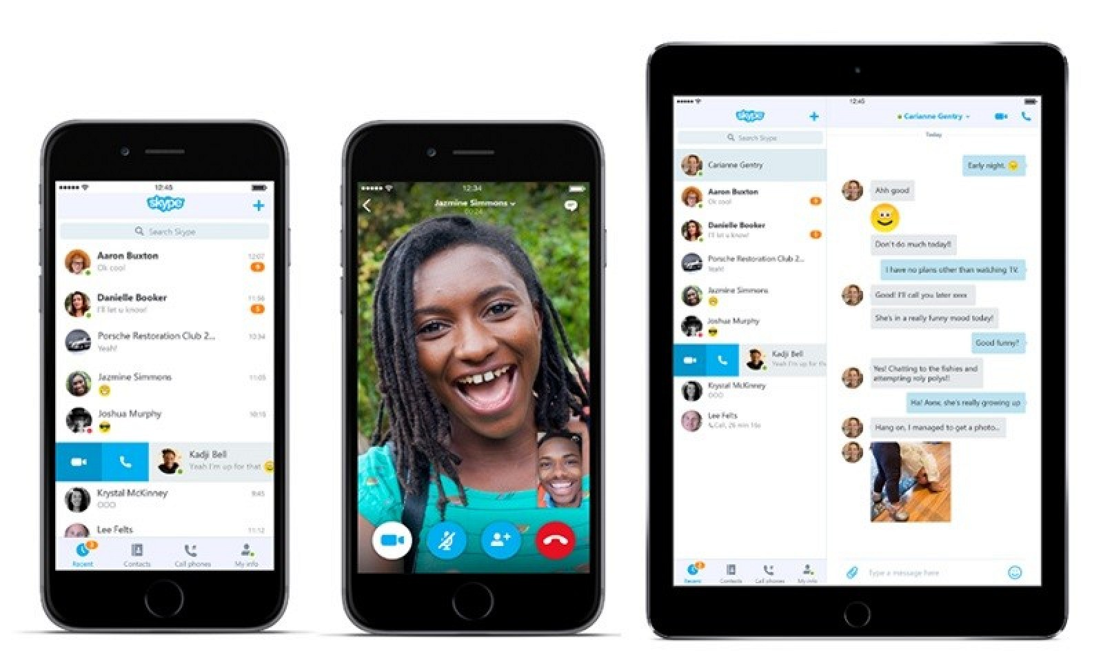 Skype Updates iOS and Android Apps With New Design ...