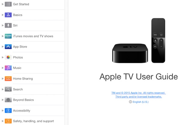 New apple tv tidbits limited app discovery user guide amazon apple tv user guide publicscrutiny Choice Image
