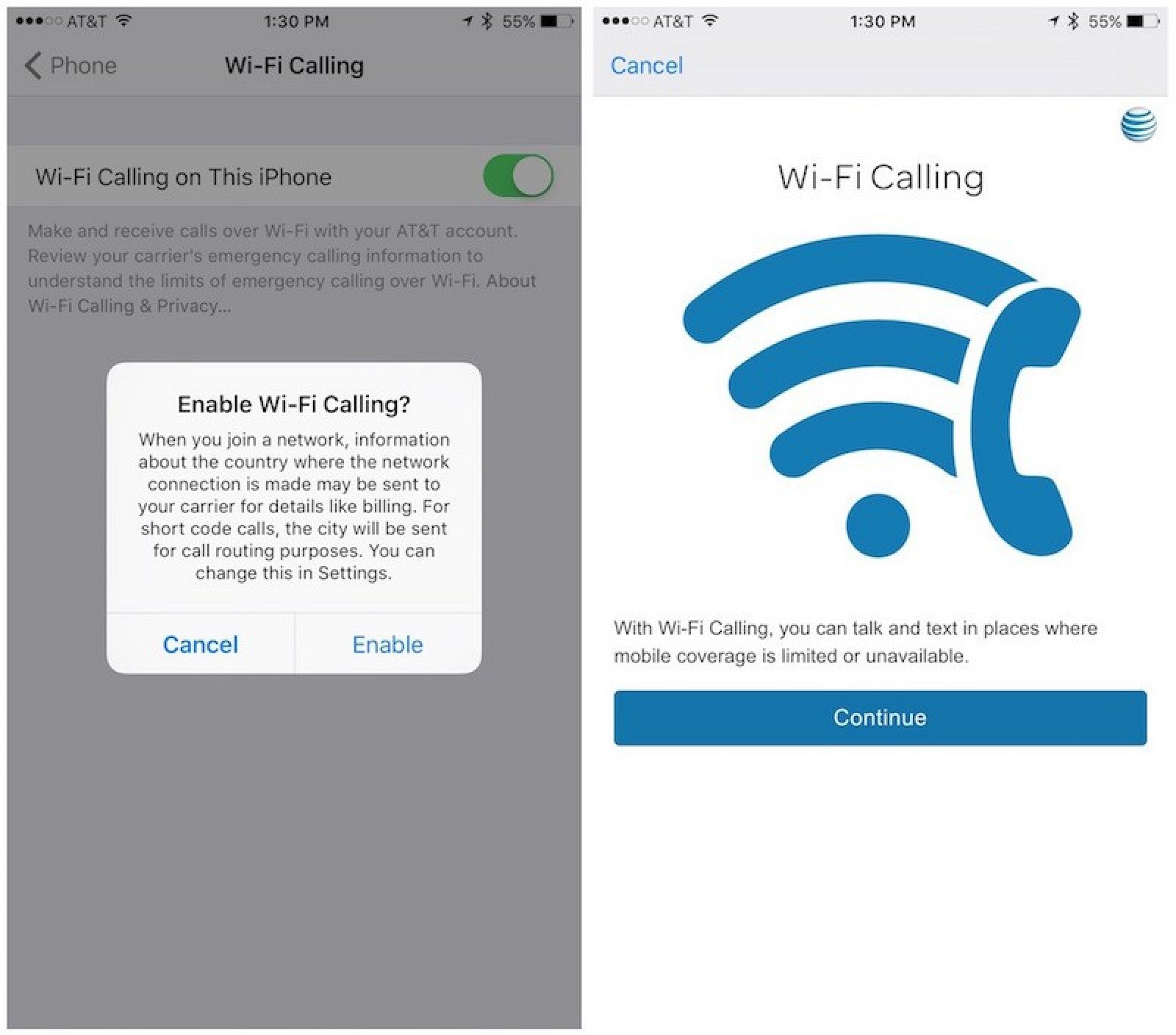 Wi Fi Calling Now Available For Att Users Macrumors Phone Internet Wiring Diagram
