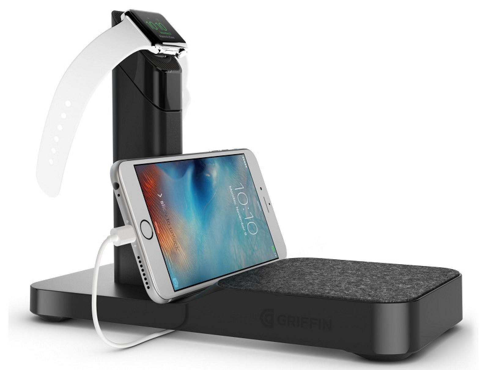 charging stations for iphones griffin launches new combination apple and iphone 5463