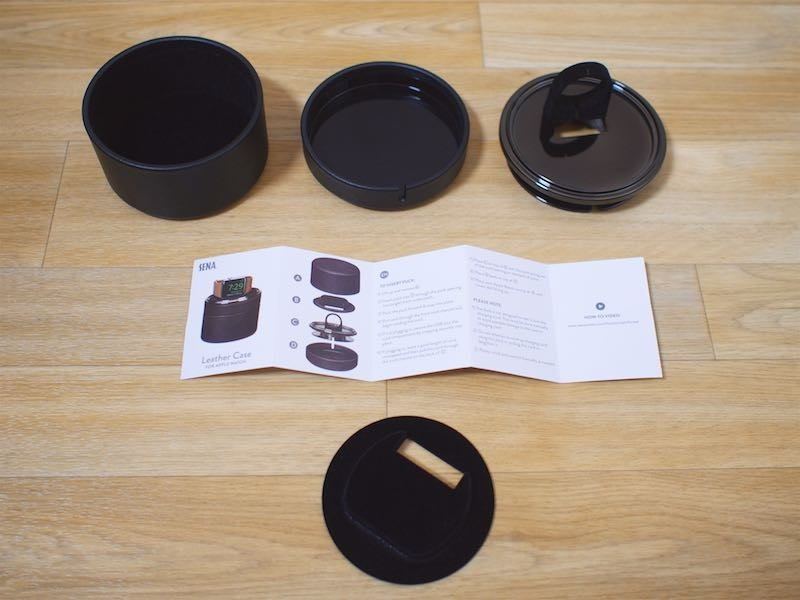 official photos 0da04 80a9b Sena Leather Watch Case Review - MacRumors