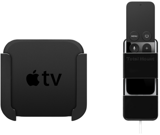 Mounting System For New Apple Tv And Remote Launching In
