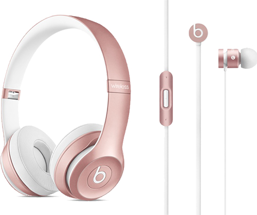 Earbuds rose gold beats - beats wireless earbuds for iphone
