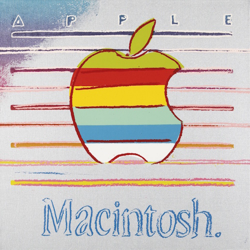 classic andy warhol �macintosh� painting could fetch