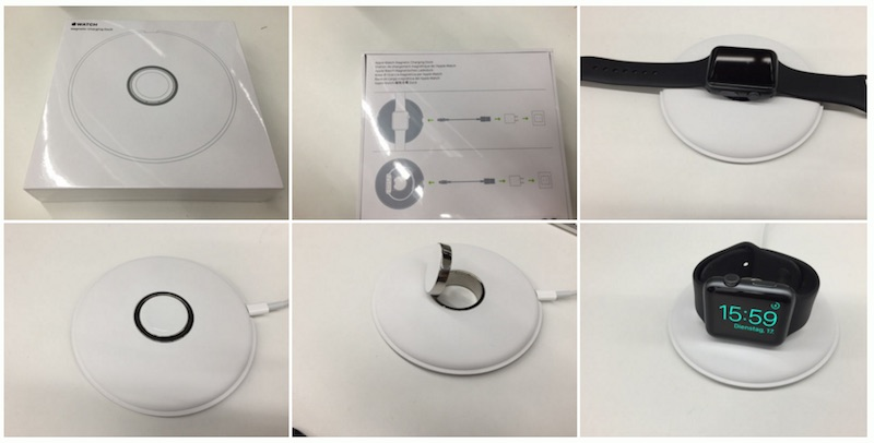 Official Apple Watch Charging Dock Packaging Shown In